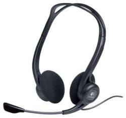 headphone logitech pc-headset-960 stereo usb