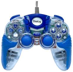 ms gamepad dialog gp-a15el blue