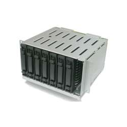 discount serverparts drivecase hp 8sff drive cage used