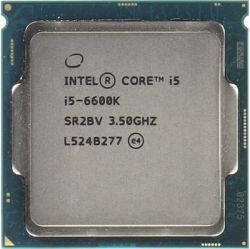 cpu s-1151 core-i5-6600k box