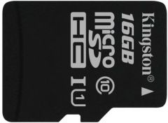 flash microsdhc 16g class10 uhs-1 kingston sdc10g2-16gbsp
