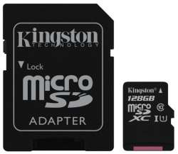 flash microsdxc 128g class10 uhs-1 kingston sdc10g2-128gb