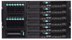 discount serverblade intel mfsys-25 5x 5520vir 2x 1000w used