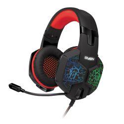 headphone sven ap-u988mv black-red+microphone