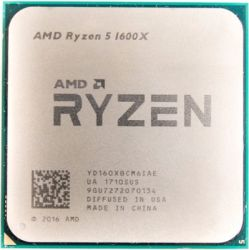 cpu s-am4 ryzen 5 1600x box