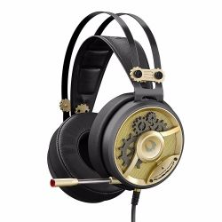 headphone a4 bloody m660 golden-black+microphone