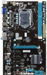 mb esonic h81-btc-king+cpu g3220+cooler box kit mining