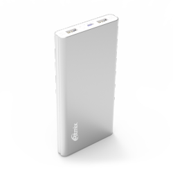 smartaccs charger powerbank ritmix rpb-12077p silver