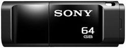 usbdisk sony usm64xb 64gb black