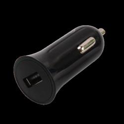 auto charger ritmix rm-112dc black usb