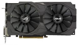discount vga asus pci-e strix-rx570-o4g-gaming 4096ddr5 256bit used