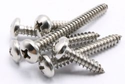 rc fix round head self-tapping screws m2-3x4