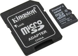 discount flash microsdhc 32g class10 uhs-1 kingston sdcs-32gb badpack