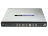 discount serverparts lan hub linksys srw24p used