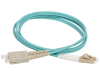 discount serverparts fc cable patchcord optic om3 lc-sc 2m used